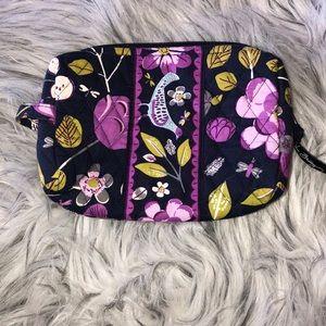 Vera Bradley plastic lined makeup bag